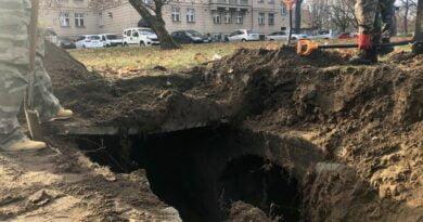 schron w parku Wieniawskiego fot. Poznańska Grupa Eksploracyjna