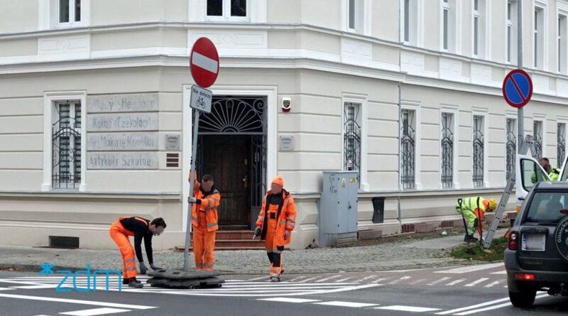 srodka zmiana organizacji ruchu fot. zdm 800x445 - Poznań: Zmiany w organizacji ruchu na Śródce i Naramowicach