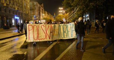 Strajk Kobiet, plac Wolności