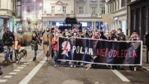 Poznań: Strajk Kobiet, czyli Polka niepodległa