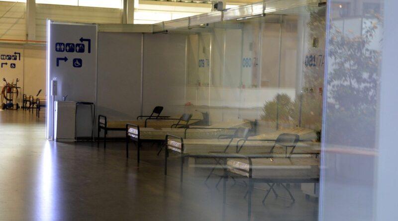 szpital tymczasowy fot. k. adamska4 800x445 - Wielkopolska: Kolejne łóżka covidowe uwolnione