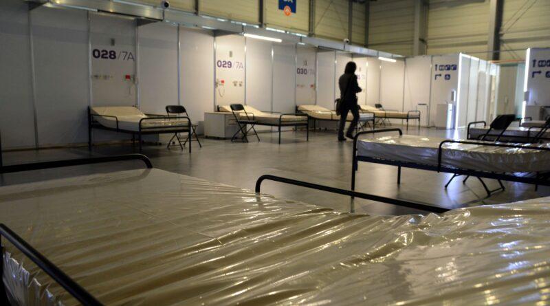 szpital tymczasowy fot. k. adamska5 800x445 - Poznań: Szpital tymczasowy na MTP prawie gotowy, ale... zmienił się operator