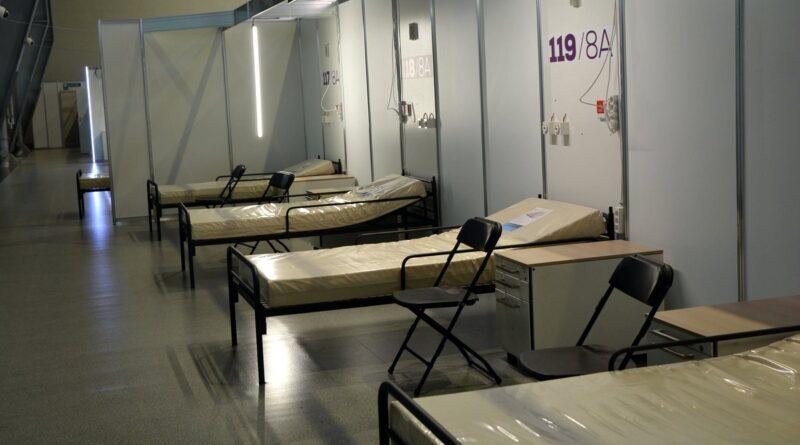 szpital tymczasowy fot. k. adamska7 800x445 - Wielkopolska: Mniej zajętych łóżek covidowych w regionie!