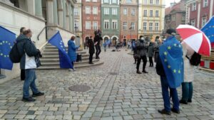 veto za veto3 300x169 - Poznań: Veto za veto, czyli protest przeciwko wychodzeniu z UE