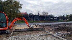 wartostrada pod mostem chrobrego fot. pim2 300x169 - Poznań: Łącznik Wartostrady przy moście Chrobrego prawie gotowy