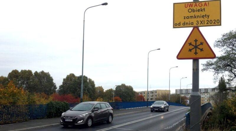 wiadukt Kurlandzka zamknięty fot. ZDM