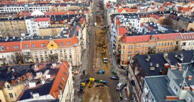 Poznań: Przebudowa Wierzbięcic trwa - a mieszkańcy protestują