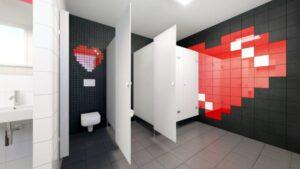 wizualizacja wyglądu łazienki po remoncie fot. 38.LO