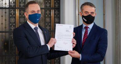 wniosek o wotum nieufności dla wicepremiera Kaczyńskiego fot. C. Tomczyk TT