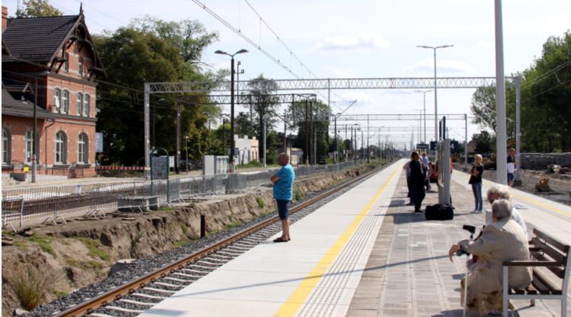 Wronki dworzec fot. PKP PLK
