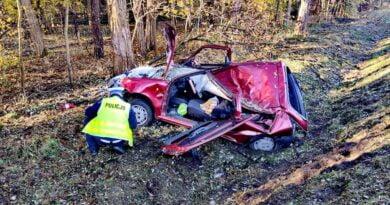 wypadek fot. policja Grodzisk