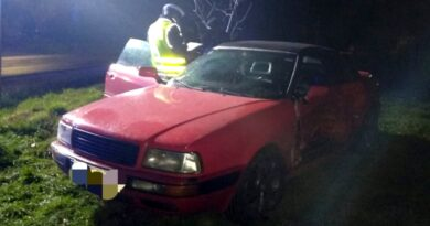 wypadek fot. policja Szamotuły