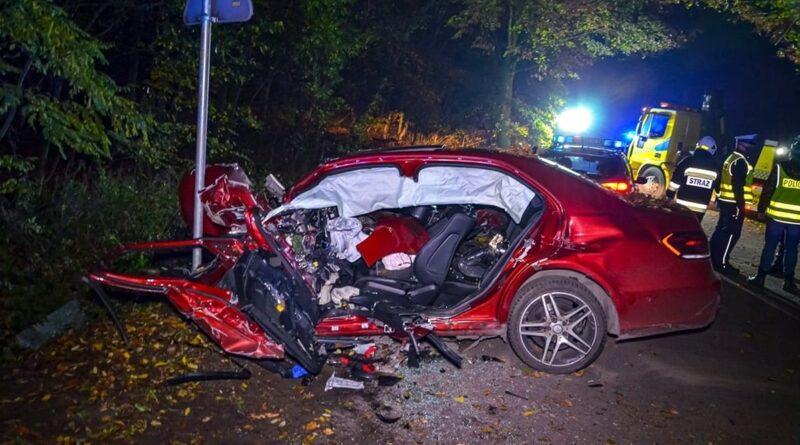 wypadek Jarocin fot. policja
