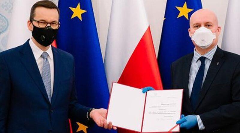 Zbigniew Hoffmann sekretarzem stanu fot. KPRM