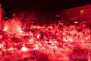 27 grudnia 16 40 racowisko fot. slawek wachala 7835 300x200 - Poznań: Racowisko dla uczczenia Powstania Wielkopolskiego. Zobaczcie zdjęcia!