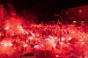 27 grudnia 16 40 racowisko fot. slawek wachala 7837 300x200 - Poznań: Racowisko dla uczczenia Powstania Wielkopolskiego. Zobaczcie zdjęcia!