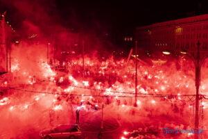 27 grudnia 16 40 racowisko fot. slawek wachala 7840 300x200 - Poznań: Racowisko dla uczczenia Powstania Wielkopolskiego. Zobaczcie zdjęcia!