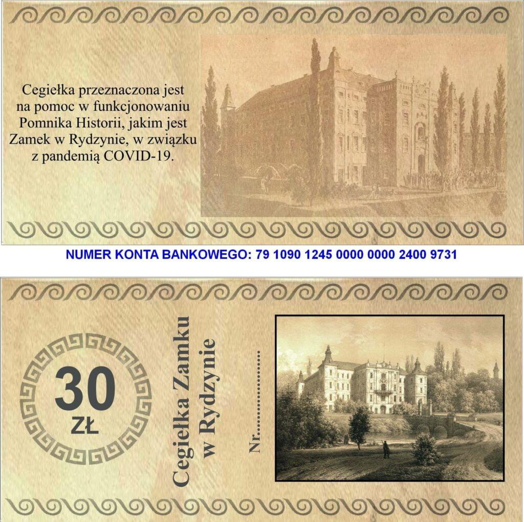 cegielka zamku w rydzynie fot. zamek rydzyna 1024x1021 - Leszno: Zamek w Rydzynie prosi o pomoc!
