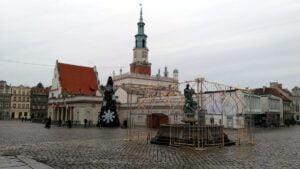 choinka miejska2 300x169 - Poznań: Choinka już jest!