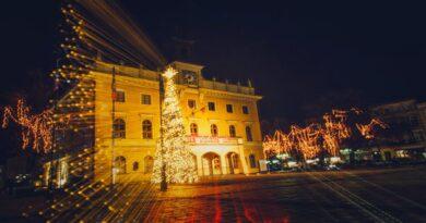 dekoracje świąteczne, Ostrów Wielkopolski fot. UM Ostrów