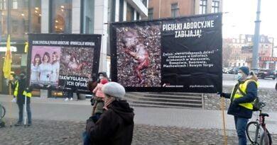 demonstracja w sprawie aborcji, Półwiejska