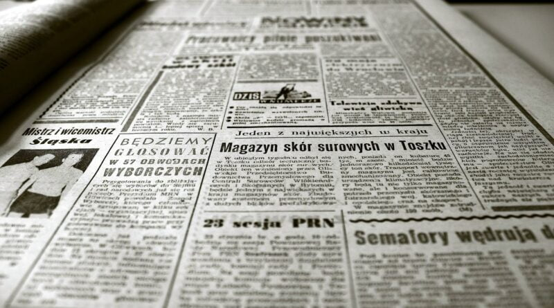 gazety fot. pixabay
