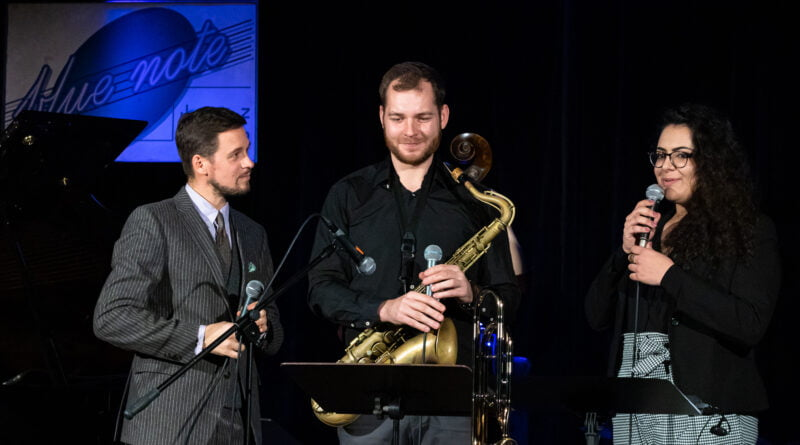 Happy Jazzy Christmas Blue Note- M. Konarski, P. Banyś, D. Kostka, Z. Babiak, J. Szwaj, D. Kostka, A. Zagórski fot. Sławek Wąchała