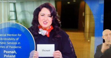 Helena Dali, Acces City Award 2021 dla Poznania, fot. UMP