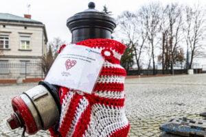hydranty na 102 rocznice wybuchu powstania wielkopolskiego fot. slawek wachala 7555 300x200 - Poznań: Biało-czerwone hydranty z okazji rocznicy wybuchu Powstania Wielkopolskiego