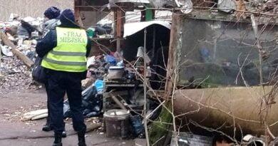 koczowiska bezdomnych fot. SMMP