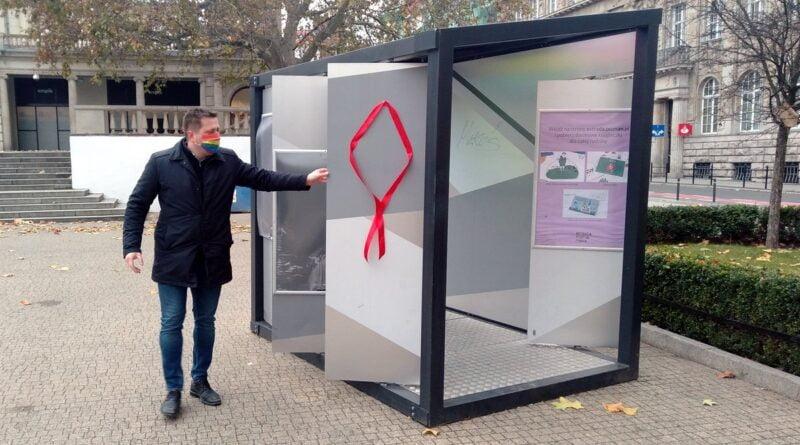 Marcin Staniewski, Światowy dzień AIDS