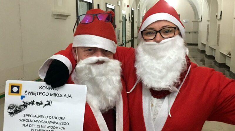 Mikołajowie z Owińsk fot PP