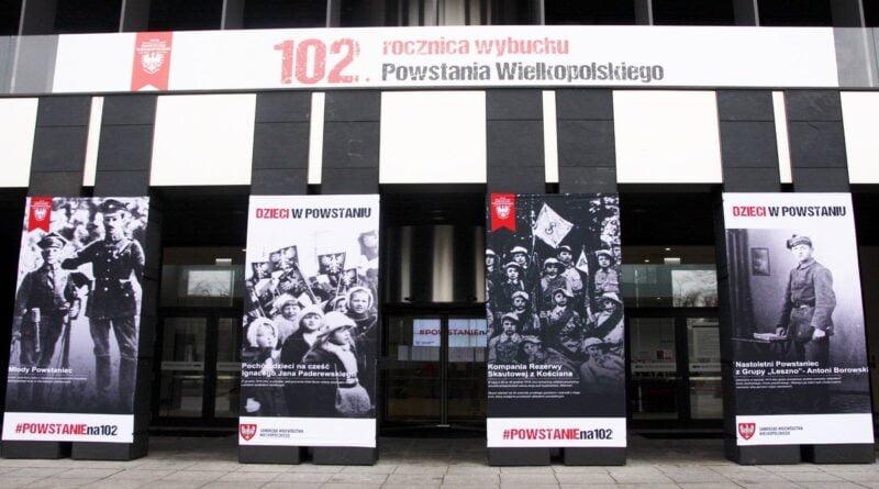 Młodzi bohaterowie Powstania Wielkopolskiego fot. UMWW
