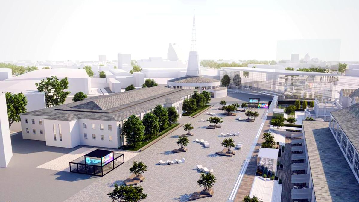 Poznań: Nowy parking, nowy plac, czyli MTP otwierają się na miasto