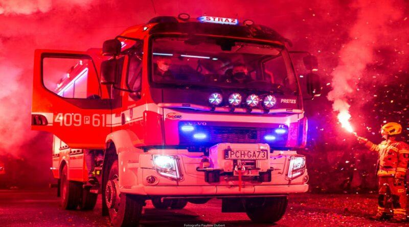 nowe wozy strażackie fot. WUW