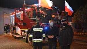 nowe wozy strazackie fot. wuw3 300x169 - Wielkopolska: Sześć nowych wozów strażackich za frekwencję już dojechało