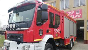 nowe wozy strazackie fot. wuw4 300x169 - Wielkopolska: Sześć nowych wozów strażackich za frekwencję już dojechało