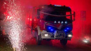 nowe wozy strazackie fot. wuw5 300x169 - Wielkopolska: Sześć nowych wozów strażackich za frekwencję już dojechało