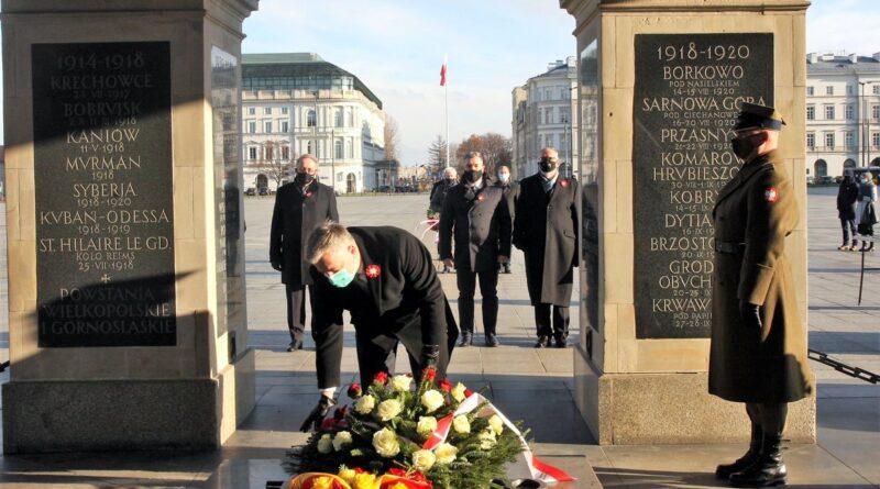 Obchody Powstania Wielkopolskiego w Warszawie fot. UMWW