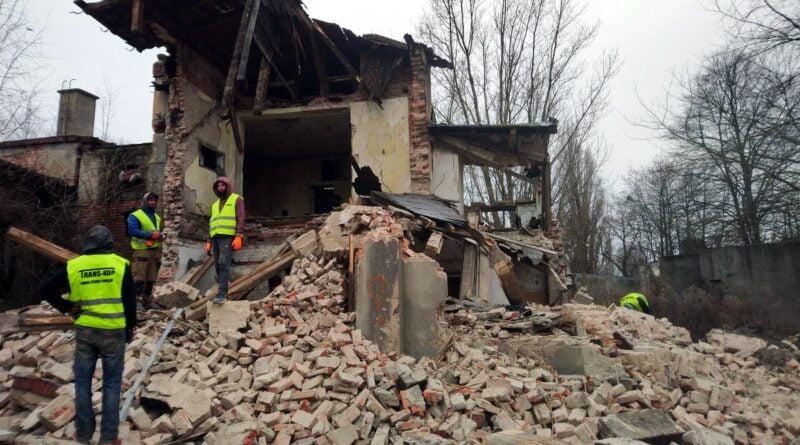 opuszczony budynek, Krańcowa fot. SMMP