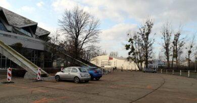 parking tymczasowy Arena fot. ZDM