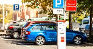 parkomat Strefy Płatnego Parkowania fot. ZDM