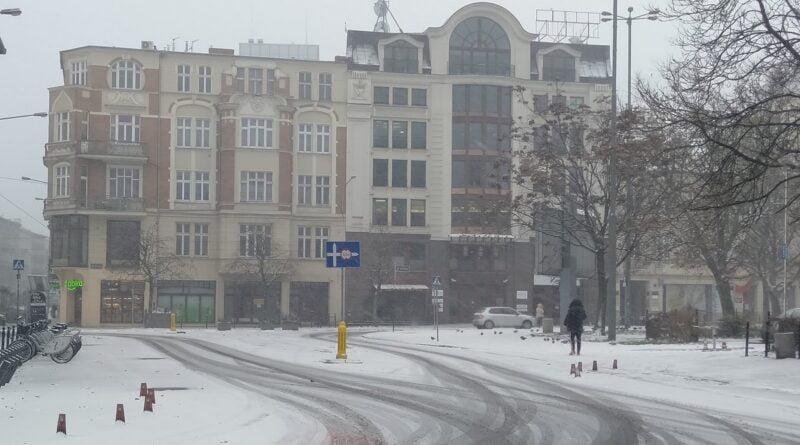 Pierwszy śnieg, zima