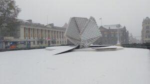 pierwszy snieg4 300x169 - Poznań: Spadł pierwszy śnieg!