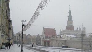 pierwszy snieg6 300x169 - Poznań: Spadł pierwszy śnieg!