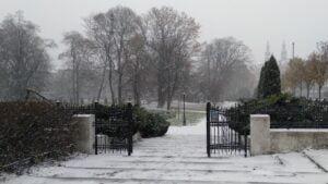 pierwszy snieg7 300x169 - Poznań: Spadł pierwszy śnieg!