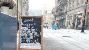 pierwszy snieg8 300x169 - Poznań: Spadł pierwszy śnieg!