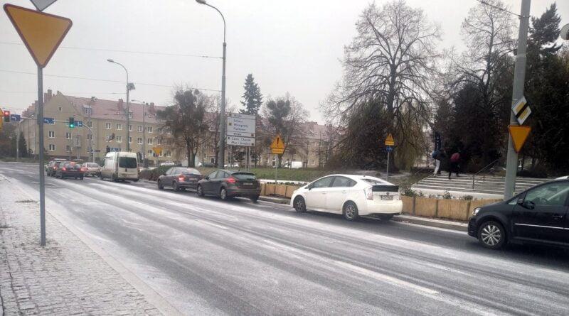 pierwszy śnieg, zima fot. K. Adamska
