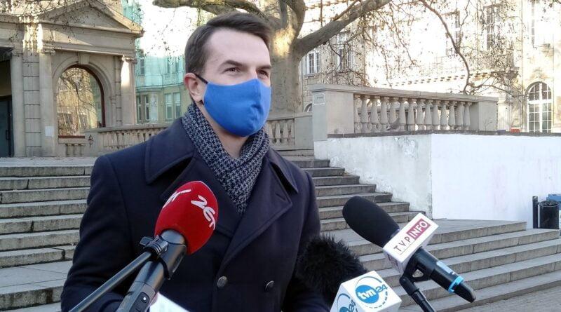 poseł Adam Szłapka