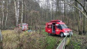 poszukiwania zaginionej fot. osp kobyla gora2 300x169 - Ostrzeszów: Ciało zaginionej 36-latki znaleziono w zalewie